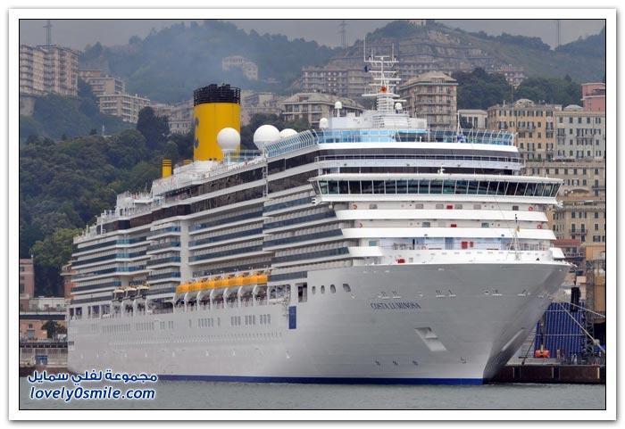 سفن سياحية عابرة للمحيط