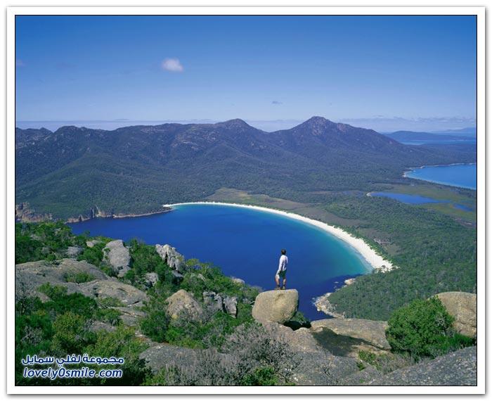 من أجمل الشواطئ في العالم قبالة سواحل استراليا
