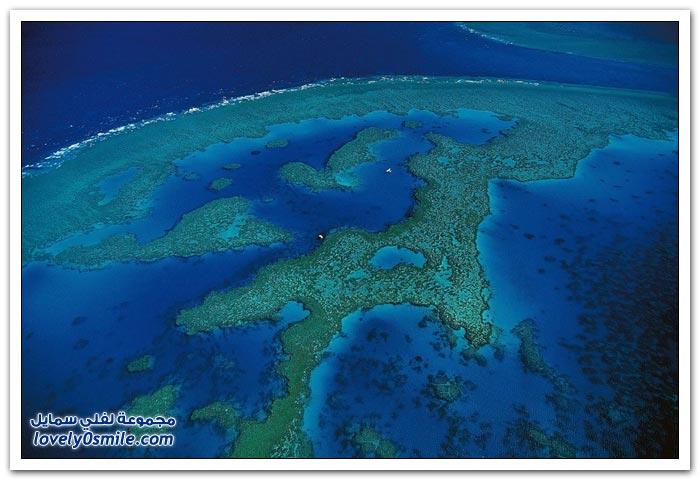 صور من السماء لجزر مدغشقر