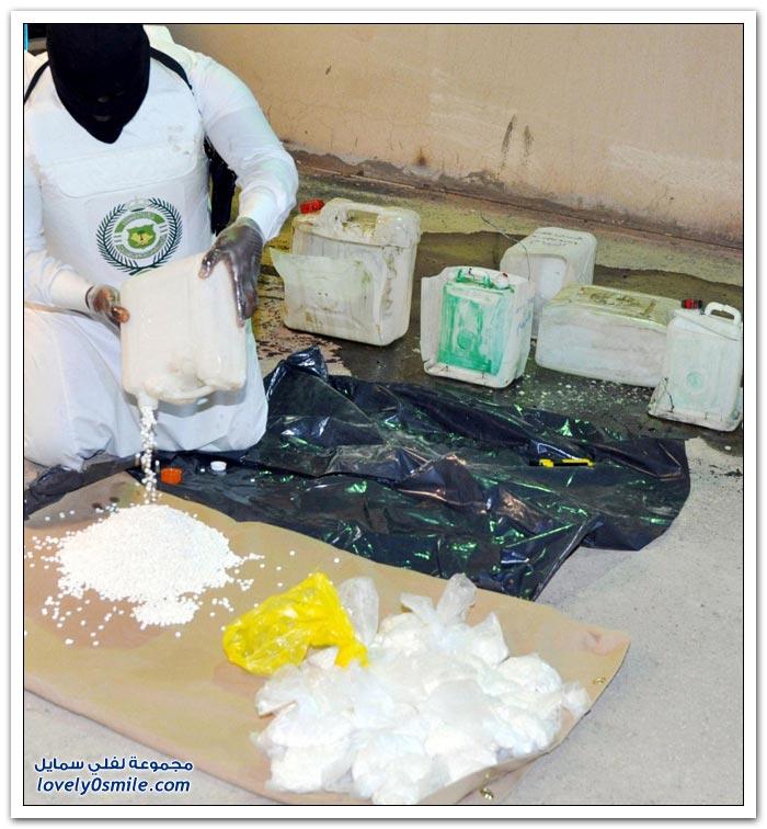 إحباط عملية تهريب مخدرات للمملكة