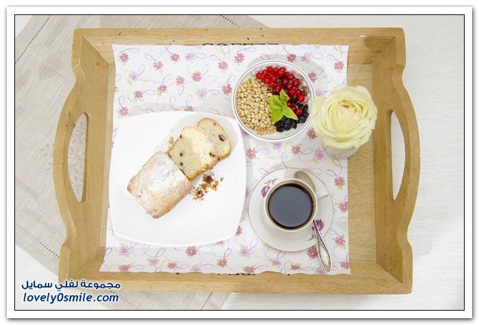 أنواع الفطور