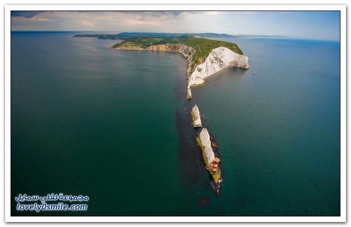 صور للمملكة المتحدة من السماء