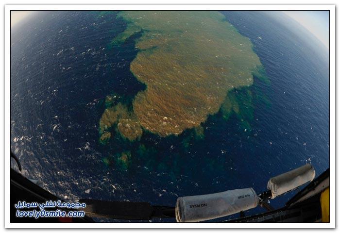 ثوران بركاني تحت الماء في جزر الكناري