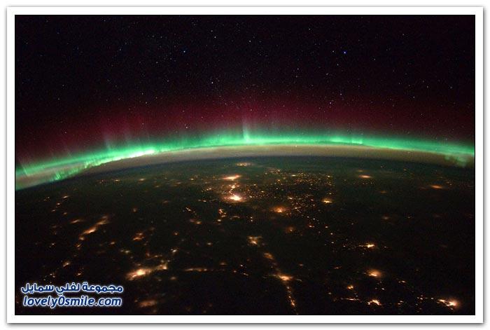 صور من السماء لمناظر رائعة حول العالم