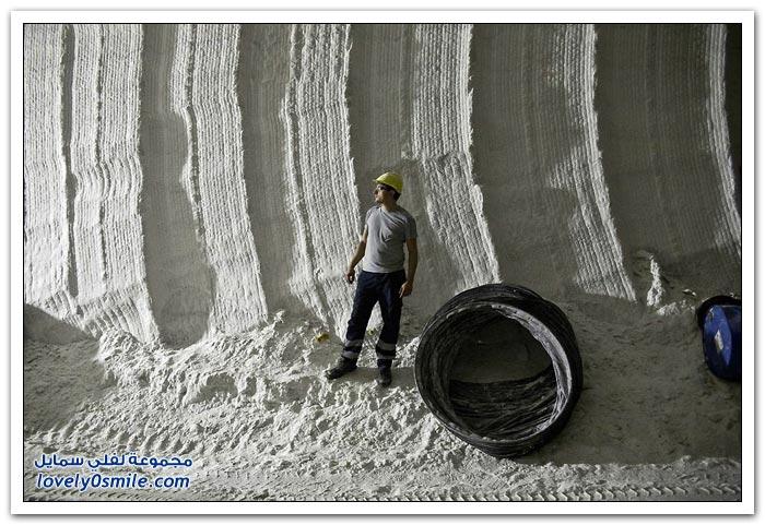 استخراج الملح في صقلية