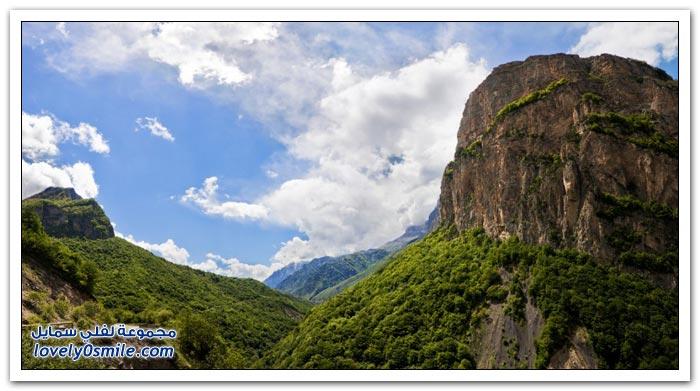 صور من الطبيعة في القوقاز