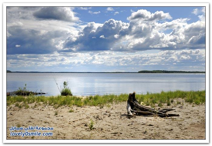 المناظر الطبيعية في فنلندا