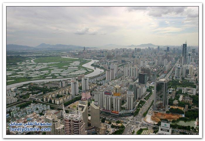 النهضة العمرانية في بعض المدن حول العالم