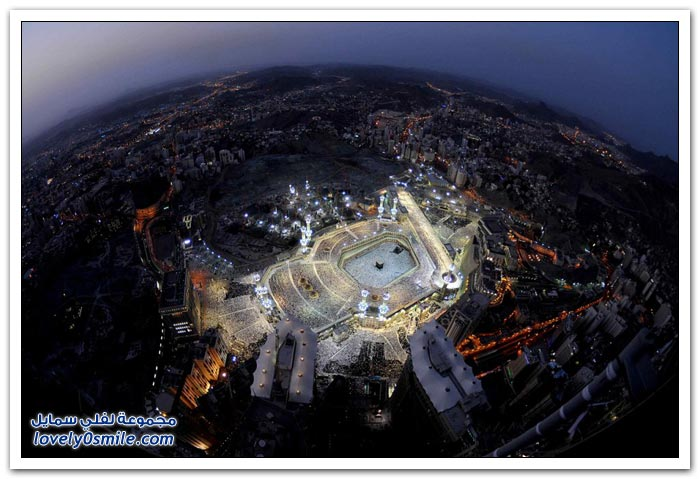 صور لمعالم شهيرة من السماء