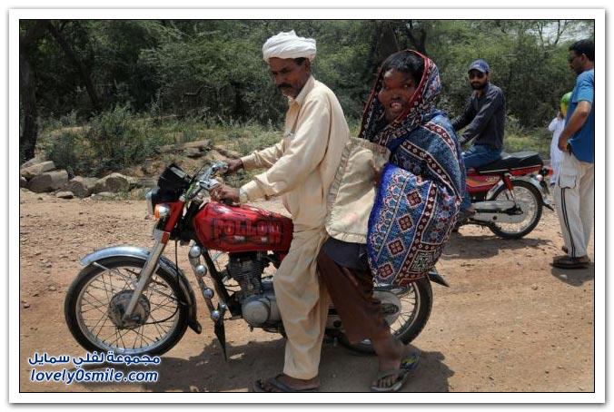 الرجل الفيل في باكستان