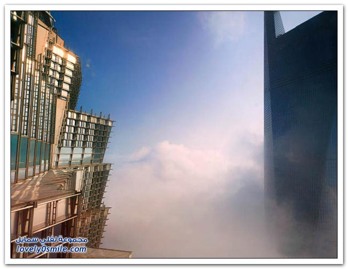 ناطحات السحاب في شنغهاي