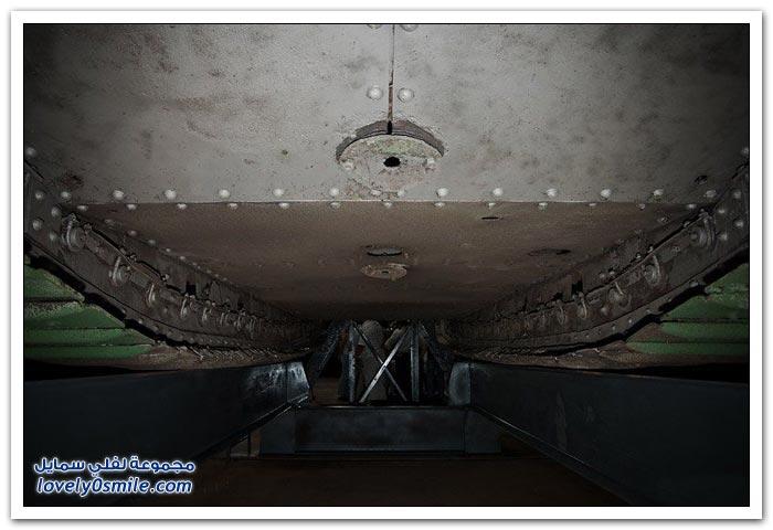 دبابة من القرن الماضي قبل وبعد الصيانة