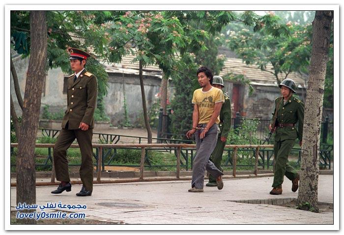 ساحة تيانانمين في بكين بين الماضي والحاضر