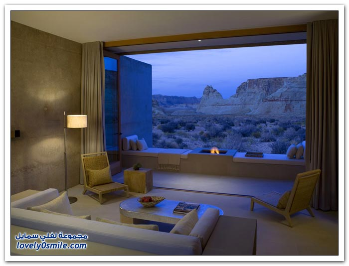 اكثر الفنادق عزلة بالعالم Amangeri-hotel-in-the-city-of-Utah-in-the-United-States-07