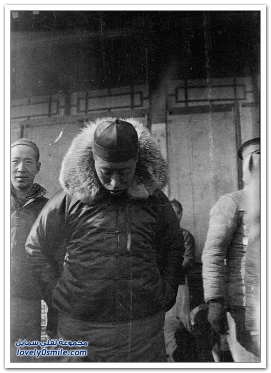 صور من الصين بالأبيض والأسود من القرن الماضي