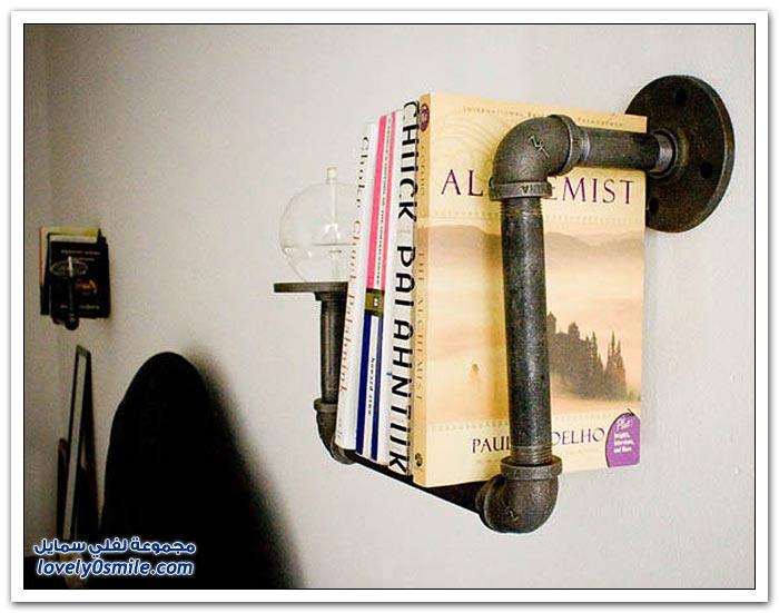 أفكار رائعة لأرفف الكتب