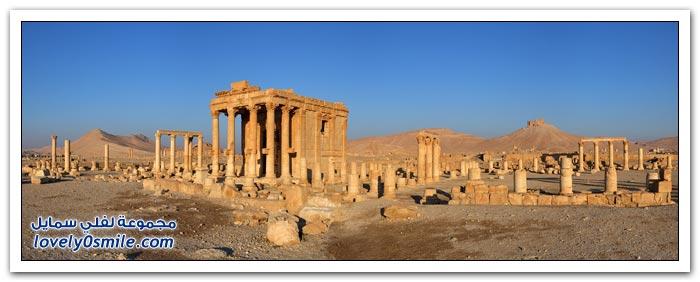مدينة تدمر إحدى أهم المدن الأثرية عالمياً في سوريا