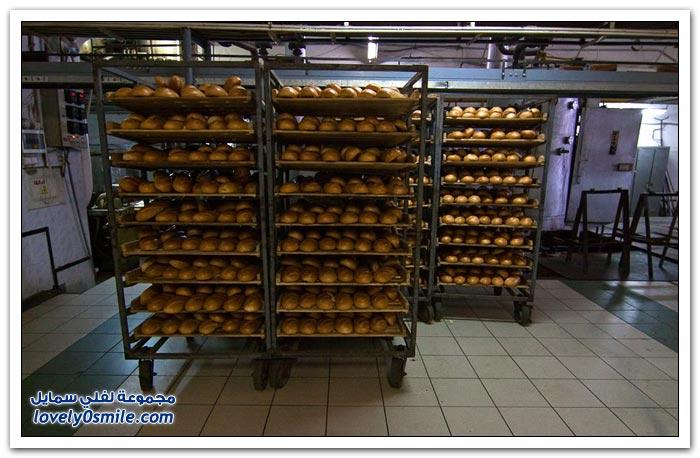 مخبز في مدينة بافلوفسكي بوساد في روسيا