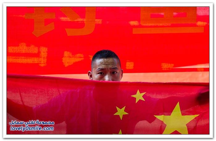 مظاهرات مناهضة لليابان في الصين