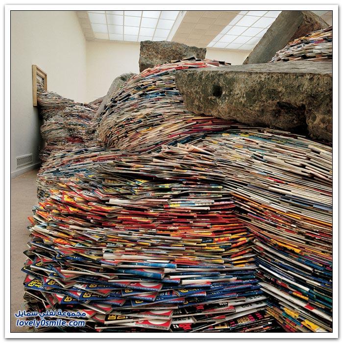 منحوتات رائعة من المجلات القديمة