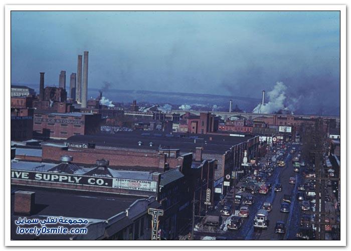 صور من الماضي لولاية إنديانا في أمريكا بين عامي 1938-1949
