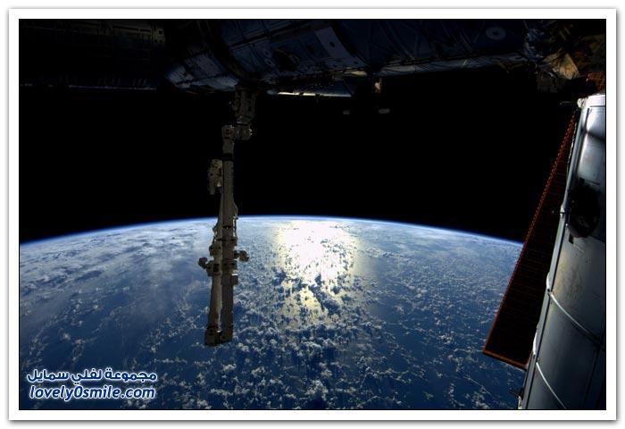 صور للفضاء من رائد الفضاء أندريه