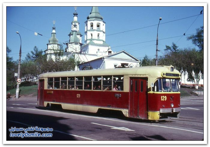 صور من اتحاد الجمهوريات الاشتراكية السوفياتية في عام 1985