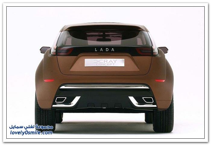 سيارة لادا الروسية الصنع 2012