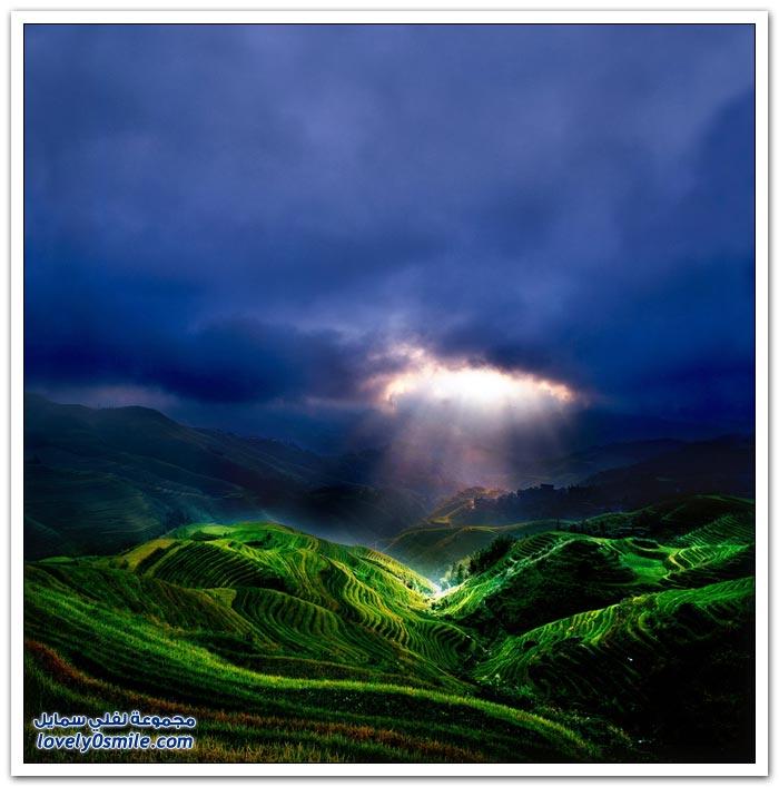 مناظر طبيعية في الصين من المصور الفرنسي تييري