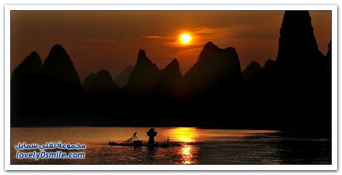 مناظر من الطبيعة في الصين
