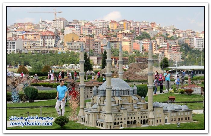 حديقة تحتوي على جميع معالم تركيا