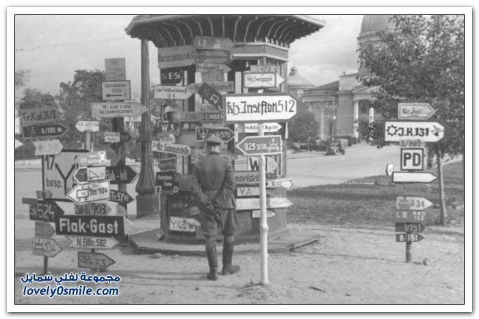 صور الحرب العالمية الثانية التي التقطتها القوات الألمانية ج1