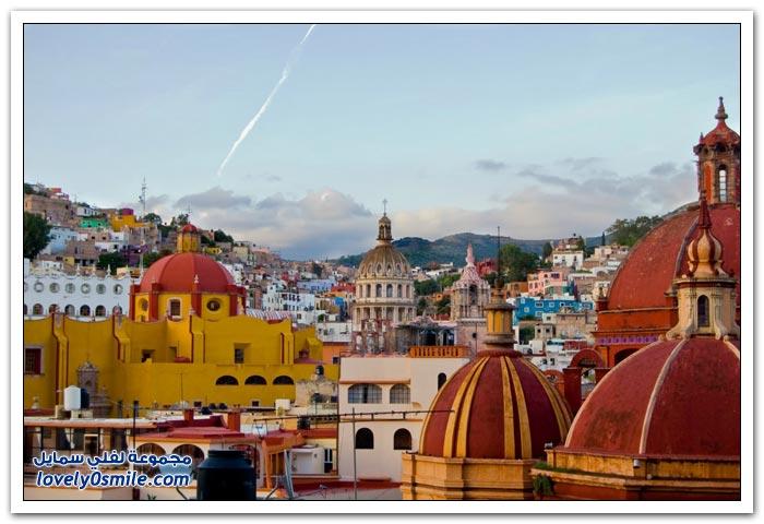 مدينة غواناخواتو المكسيكية ذات الألوان المتعددة