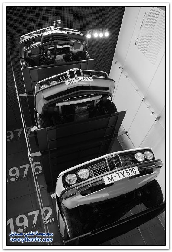 صور من متحف بي إم دبليو في ميونخ