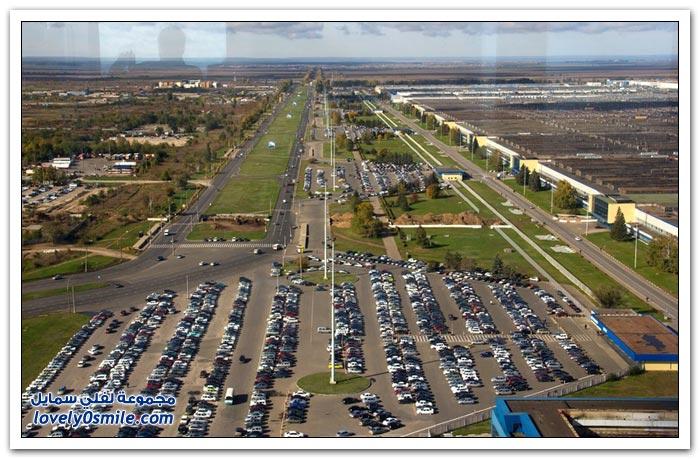 شركة أوتوفاز واحدة من أكبر مصانع السيارات في العالم