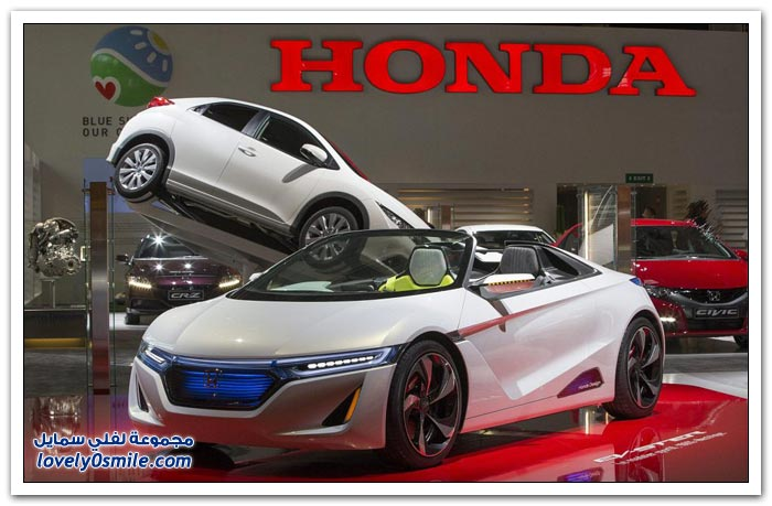 معرض باريس للسيارات 2012