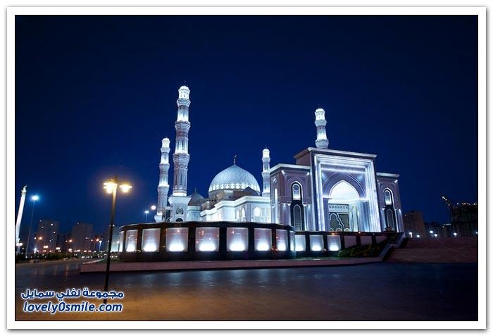 مسجد حضرة السلطان في كازاخستان
