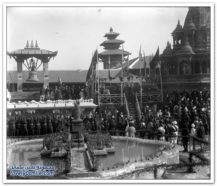 صور من النيبال قديماً