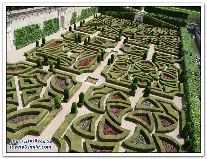 حديقة الحب في قصر شاتو دي فيلاندري