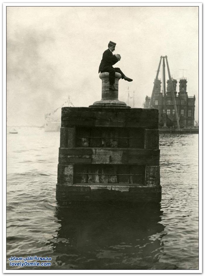 لقطات حول العالم لمطلع القرن العشرين