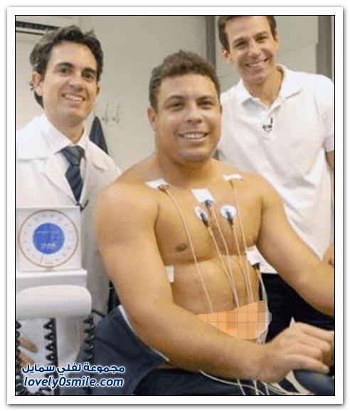 رونالدوا بعد الاعتزال أصبح وزنه 118 كيلوجرام