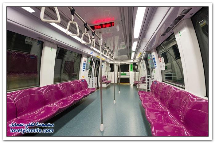 مترو الأنفاق في سنغافورة