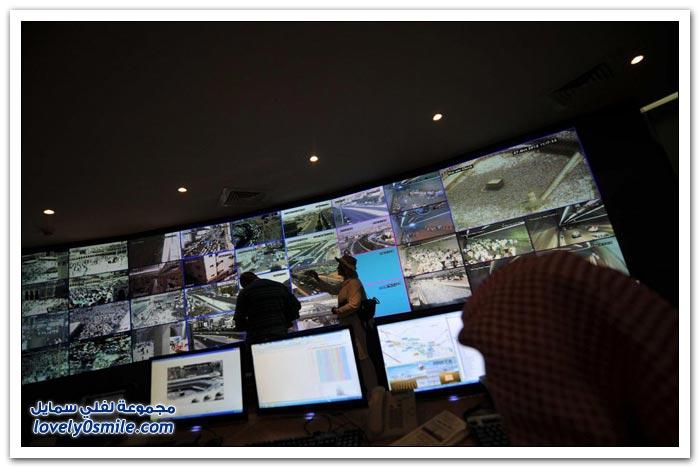 كاميرات المراقبة في الحج لعام 1433هـ
