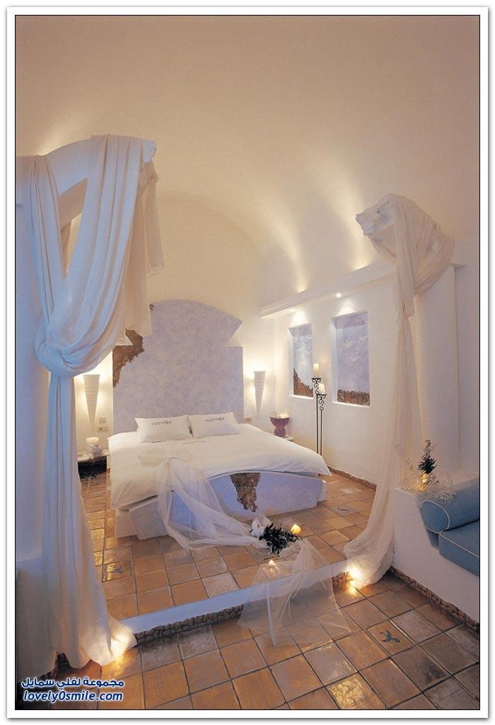 فندق بوتيك في جزيرة سانتوريني في اليونان
