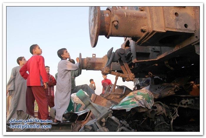 كارثة قطار أسيوط