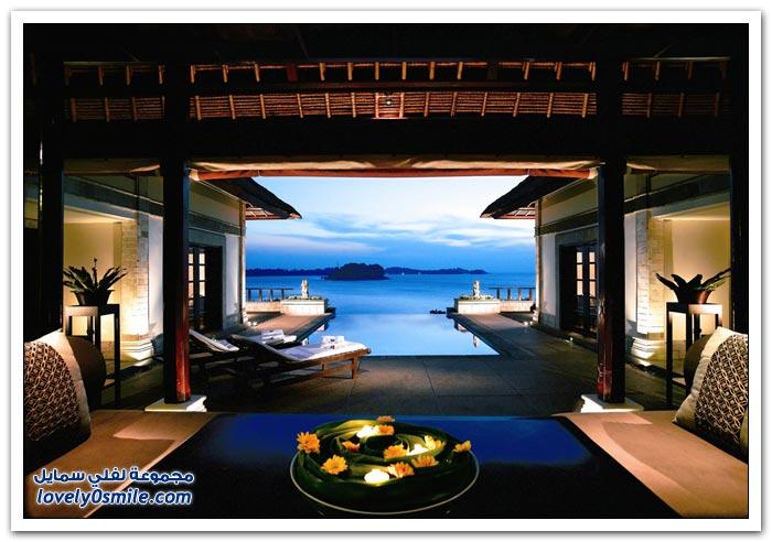 فندق بانيان تري بنتان في جزيرة في بحر الصين الجنوبي