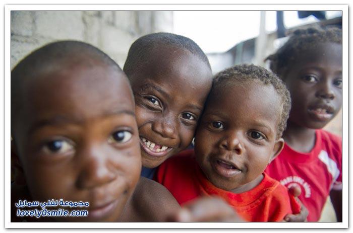 أطفال من العالم