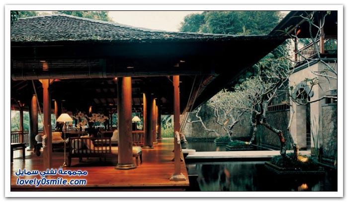 منتجع كومو شامبالا في بالي في أندونيسيا