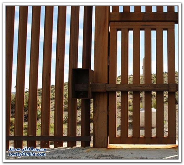 محاولة غريبة للتسلل بين المكسيك وأمريكا