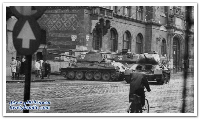 الثورة المجرية في عام 1956م
